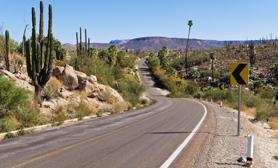 Coahuila Mexico Roads