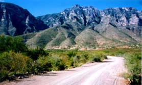 coahuila mexico mountains